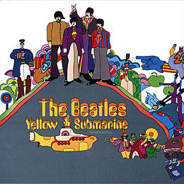 Soundtrack-albumin Yellow Submarine kansikuva