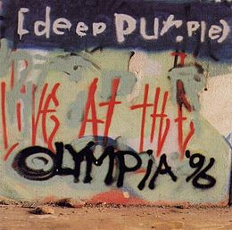 Livealbumin Live At The Olympia '96 kansikuva