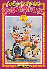 Carl Barks, Rumble seat roadster, 1975.
