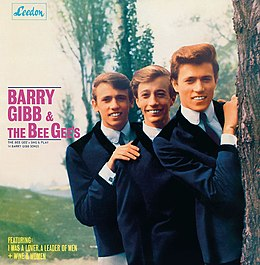 Studioalbumin The Bee Gees Sing and Play 14 Barry Gibb Songs kansikuva