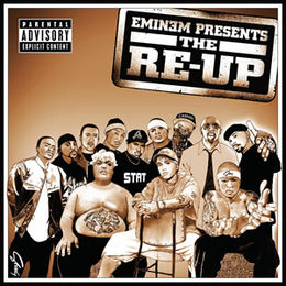 Kokoelmalevyn Eminem Presents the Re-Up kansikuva