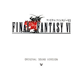 Soundtrack-albumin Final Fantasy VI Original Sound Version kansikuva