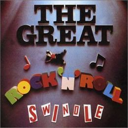 Soundtrack-albumin The Great Rock 'n' Roll Swindle kansikuva