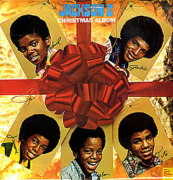 Studioalbumin The Jackson 5 Christmas Album kansikuva