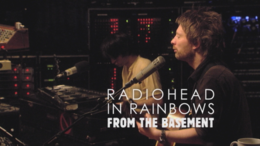 Livealbumin In Rainbows - From the Basement kansikuva