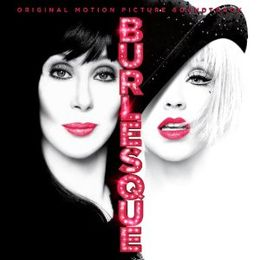 Soundtrack-albumin Burlesque kansikuva