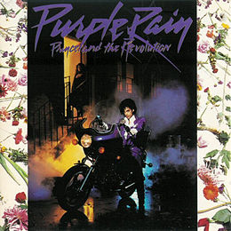 Soundtrack-albumin Purple Rain kansikuva