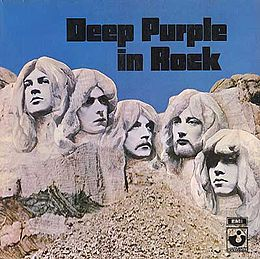 Studioalbumin Deep Purple in Rock kansikuva