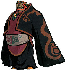 Ganondorf pelissä The Legend of Zelda: The Wind Waker