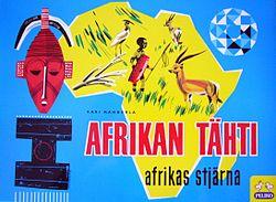 Afrikan Tähti Kartta