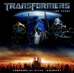 Soundtrack-albumin Transformers: The Score kansikuva