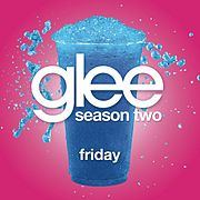 "Singlen ""Friday (Glee Cast Version)"" kansikuva"