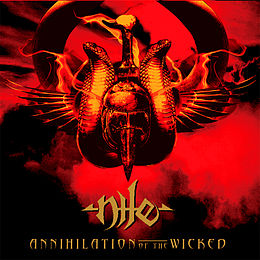 Studioalbumin Annihilation of the Wicked kansikuva