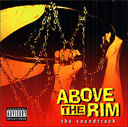 Soundtrack-albumin Above the Rim kansikuva
