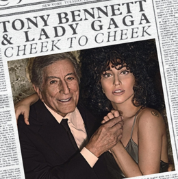 Studioalbumin Cheek to Cheek kansikuva