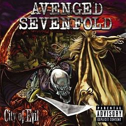 Studioalbumin City of Evil kansikuva