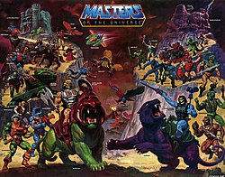 1980-luvun Masters of the Universe -hahmoja.
