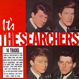 Studioalbumin It's The Searchers kansikuva