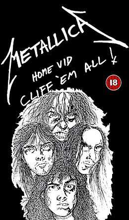 DVD:n Cliff 'em All kansikuva
