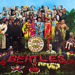 Studioalbumin Sgt. Pepper's Lonely Hearts Club Band kansikuva