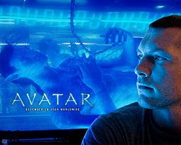 Avatar elokuvan julistetaidetta