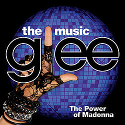 EP-levyn Glee: The Music, The Power of Madonna kansikuva