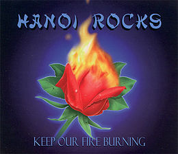 "Singlen ""Keep Our Fire Burning"" kansikuva"