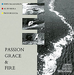 Studioalbumin Passion, Grace and Fire kansikuva