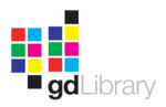 GD Libraryn logo.
