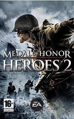 Medal of Honor: Heroes 2:n kansi.