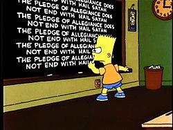Bart Simpson suku puoli sarja kuvia