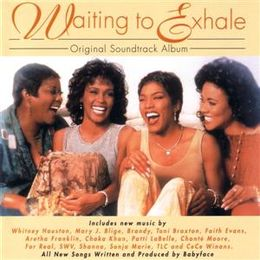 Soundtrack-albumin Waiting to Exhale OST kansikuva