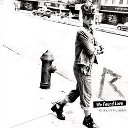 "Singlen ""We Found Love"" kansikuva"