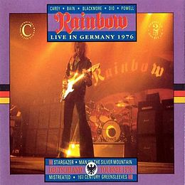 Livealbumin Live in Germany 1976 kansikuva
