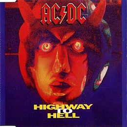"Singlen ""Highway to Hell"" kansikuva"