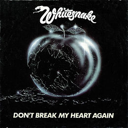 "Singlen ""Don't Break My Heart Again"" kansikuva"