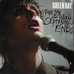 "Singlen ""Wake Me Up When September Ends"" kansikuva"