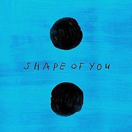 "Singlen ""Shape of You"" kansikuva"