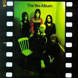 Studioalbumin The Yes Album kansikuva