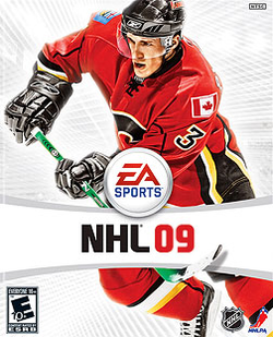 PS3 version kansikuva.Pelaaja on Dion Phaneuf