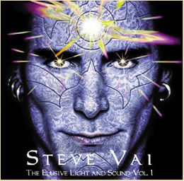 Kokoelmalevyn Steve Vai The Elusive Light and Sound, volume 1 kansikuva