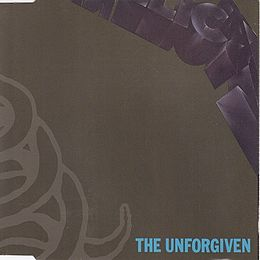 "Singlen ""The Unforgiven"" kansikuva"