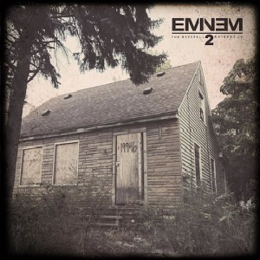 Studioalbumin The Marshall Mathers LP 2 kansikuva
