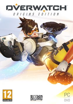 Origins Edition-version kannessa Tracer-hahmo.