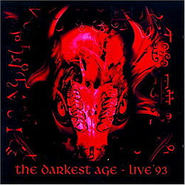 Livealbumin The Darkest Age: Live '93 kansikuva