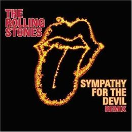 "Singlen ""Sympathy For The Devil (remix)"" kansikuva"