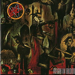 Studioalbumin Reign in Blood kansikuva