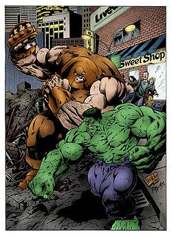 Image Result For Absorbing Man Hulk