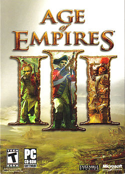 Age of Empires III:n kansikuva