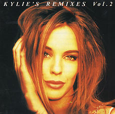 Remix-albumin Kylie's Remixes Volume 2 kansikuva